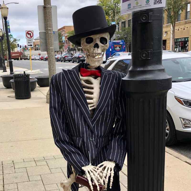 LGBA Skeleton in La Grange Illinois 2021